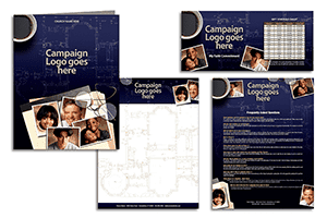 church capital campaign communications materials
