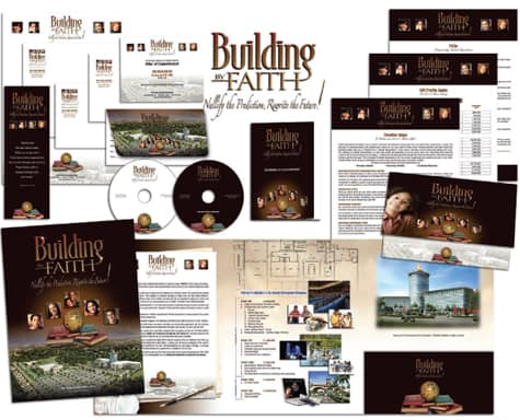 Themed Church Capital Campaign Communication Materials